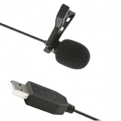 Saramonic USB Lavalier Clip-on Microfoon ULM5 voor PC en Mac